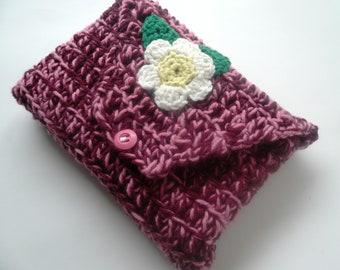 Book Buddy, book nook kindle protector, book nook kindle case, crochet