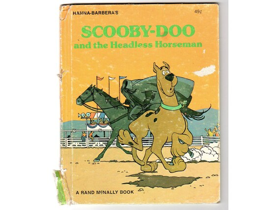 Scooby Doo and the Headless Horseman Vintage 1976 Rand McNally Childrens Book