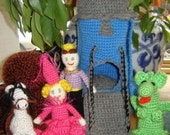 For Andrea Hammell- Custom Listing- Acorn Toy Bag & Princess Toy Bag