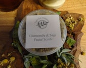 Chamomile & Sage Facial Scrub