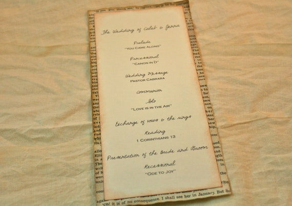 Romeo And Juliet Wedding Invitations: Weddings Paper Goods Programs Vintage By Theturningofapage