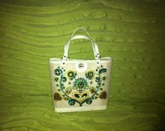 Vintage Garden Jewel Handbag