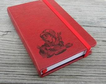 Alice In Wonderland  Mad Hatter Journal Sketch Book