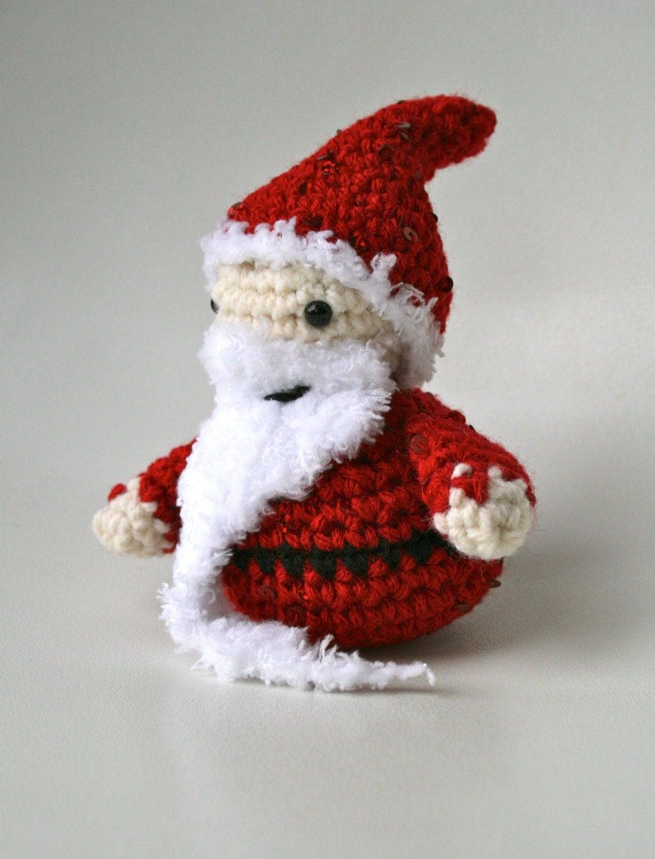 CROCHET PATTERN Amigurumi crochet Father Christmas pattern