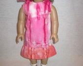A Simple Tie Dye Doll Sundress