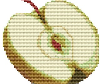 Cross Stitch Kit 'Apple' Counted CrossStitch Kit - Counted CrossStitch