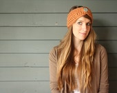 CUSTOMIZABLE Adult Chunky Crochet headband