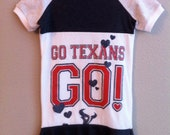 TEXANS upcycled dress size 4/5  T