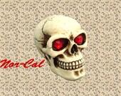 Red Jewel Eye Universal Skull Shift Shifter Knob