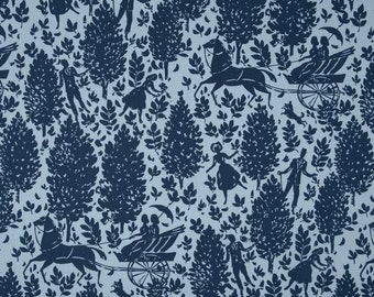SALE - Amy Butler Fabric- Cameo Collection - Folly in Zink - Choose Your Cut 1/2 of Full Yard