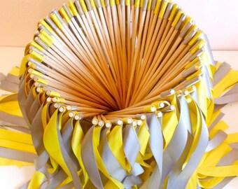 Wedding Wands/ ribbon wands  - 100 double ribbon wands