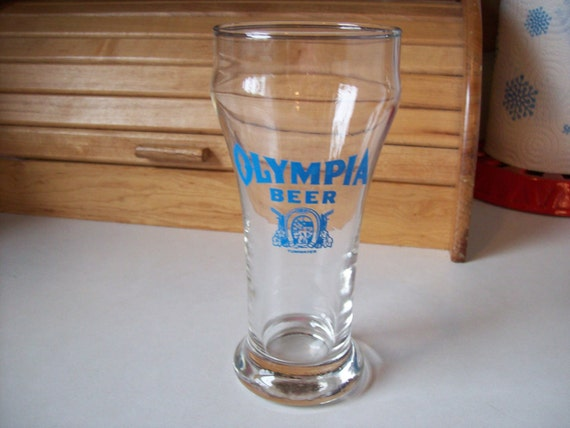 Olympia Beer Glass