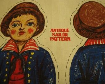 Antique Sailor Panel (s&h incl