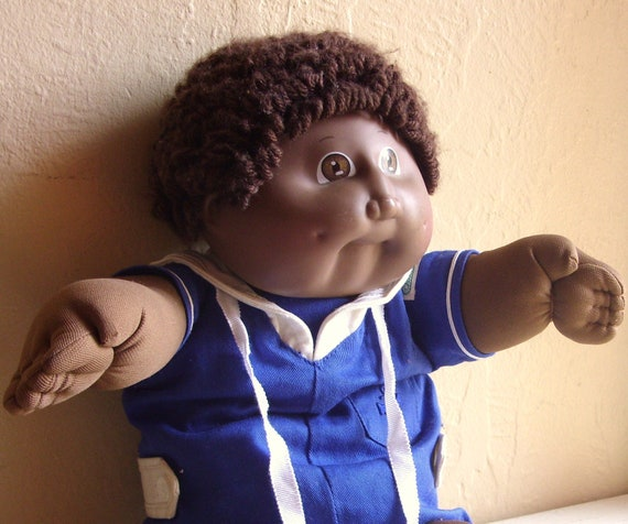 Cabbage Patch Doll African American Boy Black Child With