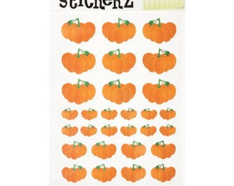 99 Pumpkin Stickers