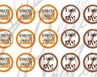 MS bottle Cap image sheet