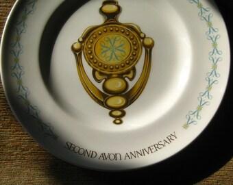 Avon Second Anniversary Plate Door Knocker by Enoch Wedgwood