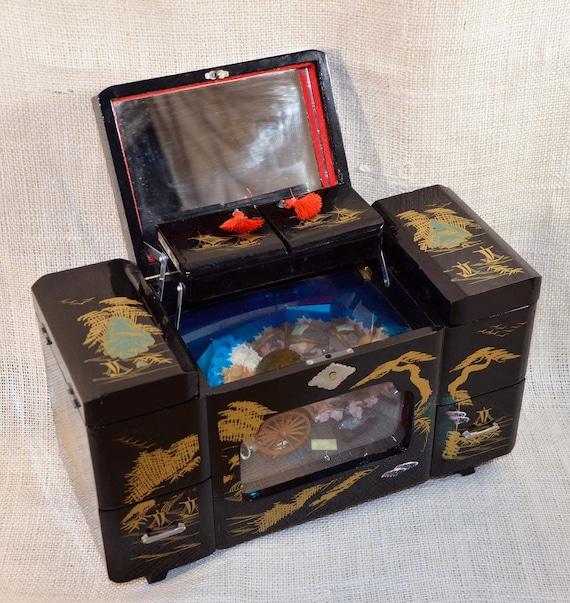 Jukebox vintage gold lineing materials