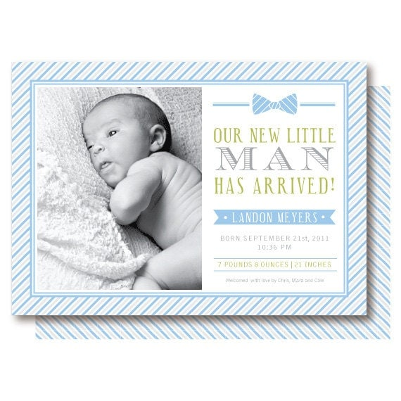 httpsimg1etsystatic00806503800il570xN – Boy Birth Announcement