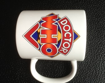 Dr. Who Classic Logo 50th Anniversary Special Mug