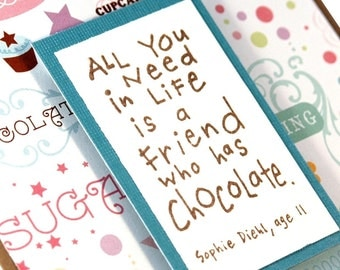 Friendship card, Thinking of You Card, Handmade Greeting Card
