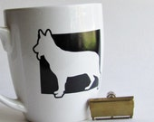 German Shepherd - Men's Shaving Mug - Shave Soap