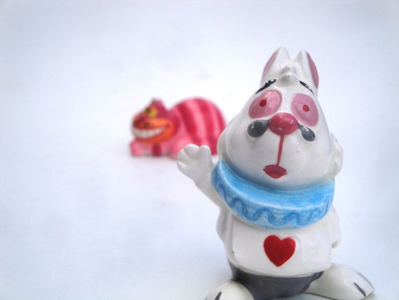 Friends of Alice - White Rabbit and Cheshire Cat