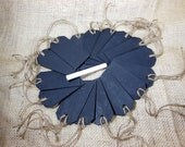 16 Chalkboard Tags with Jute Twine and Chalk Included - Set of 16 - Wood Chalkboard Tag