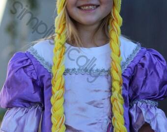 Rapunzel Sunburst Hat Crochet PATTERN