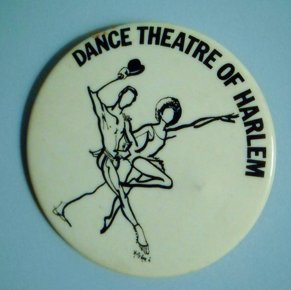 Dance Theatre of Harlem Button Pinback Badge