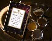 Mysterious Notes Small Solid Perfume Locket set