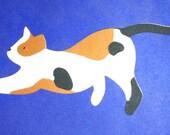 Calico Cat Die Cut.