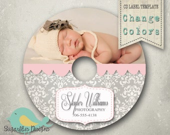 CD/Dvd Label PHOTOSHOP TEMPLATE  - dvd Label 9