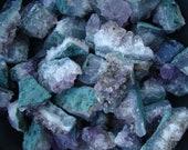 Amethyst Crystal Cluster W2