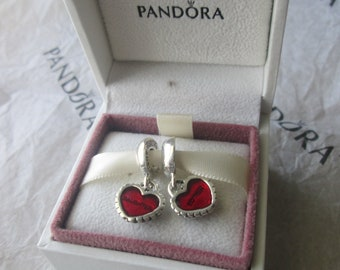 Authentic Pandora Charms For Bracelet Piece Of My Heart