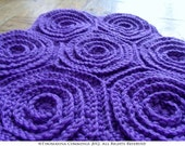 Crochet Hexagon Spiral Motif (for making blankets or bags, runners or throws, etc) INSTANT DOWNLOAD PDF from Thomasina Cummings Designs