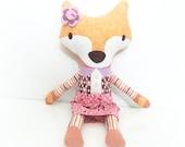 Stuffed Animal - Doll - Fox - Girls Toy