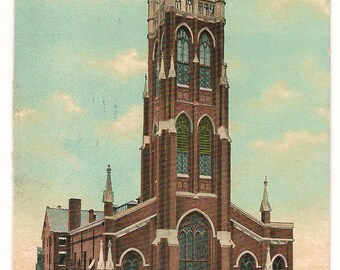 Ca. 1910 Victorian Postcard of the Dayton, OH Masonic Temple - 403