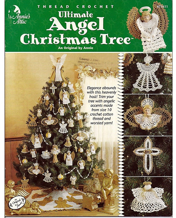 Extreme Christmas Trees: Ultimate Angel Christmas Tree Crochet Pattern By