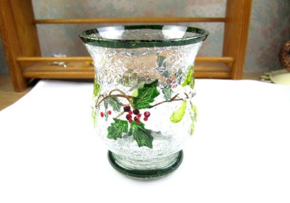 Items similar to christmas holiday sale tea light holder for Home decor 1990s