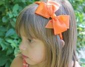 Orange Children's Headband