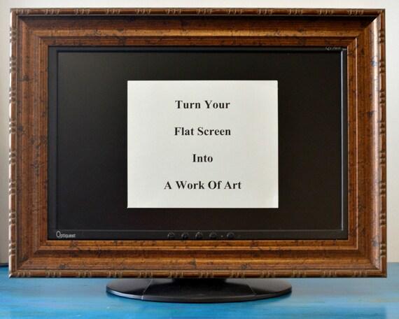 Flat Screen TV Frame or Computer Monitor Frame