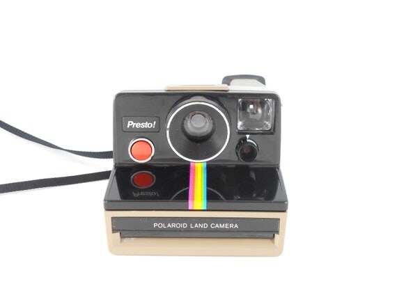 Polaroid Camera - TESTED Presto Polaroid Land Camera
