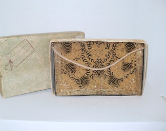 1950s Harilela Benaras Evening Bag with Original Box