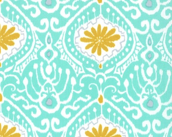 Cuzco by Kate Spain - Orchid Aqua - 1/2 yard cotton quilt fabric 315