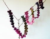 Garland - Lariat - Necklace - Belt -Home Decor -Lanyard -Bracelet -Fashion Accessory  - LOL -  Hearts - Valentine - PDF pattern