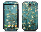 Van Gogh Blossoming Almond Tree - Samsung Galaxy S3/S4/S5 Phone Skin Decal Cover and Samsung Galaxy Note 2/3 Phone Skin Decal Cover