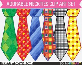 80% OFF Sale Clipart Ties, Clipart Neckties, Clip Art Ties, Clip Art Neckties, Fathers Day Clipart, Fathers Day Clip Art, Digital Ties