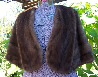 Vintage Pastel Mink Stole Mad Men Retro