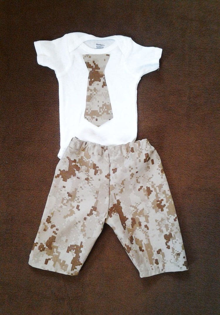 Military Outfit Baby Army Clothes Navy Acu By Crazycraftheaven